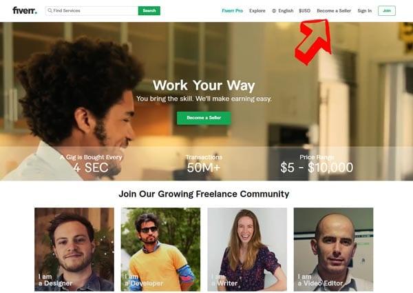 create-account-Fiverr-seller